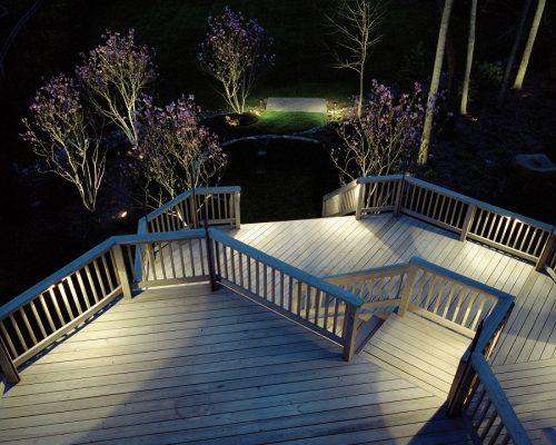 Exterior Deck and Landscape LED Lighting
