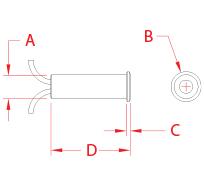 Micro Star™ LED Light Line Drawing
